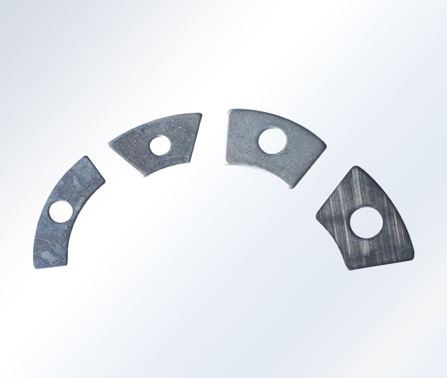 扇形转子平衡块